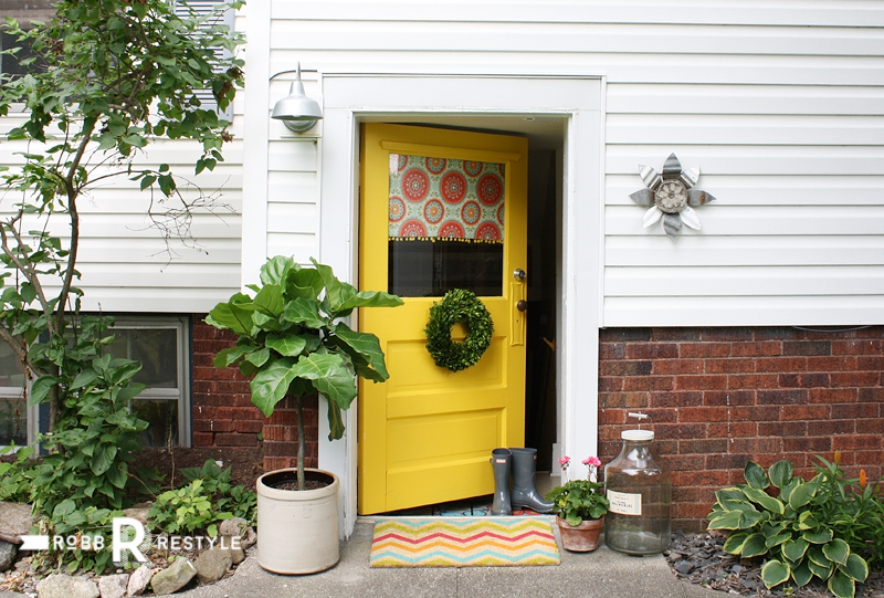 Yellow Door Happy