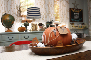 Vintage Home Decor for Fall
