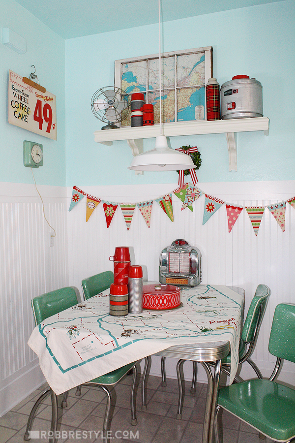 superb Retro Kitchen Decor #3: Retro Kitchen Decor by Robb Restyle