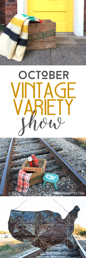 October Vintage Variety Show by Robb Restyle where we share our favorite recycled and reloved finds!