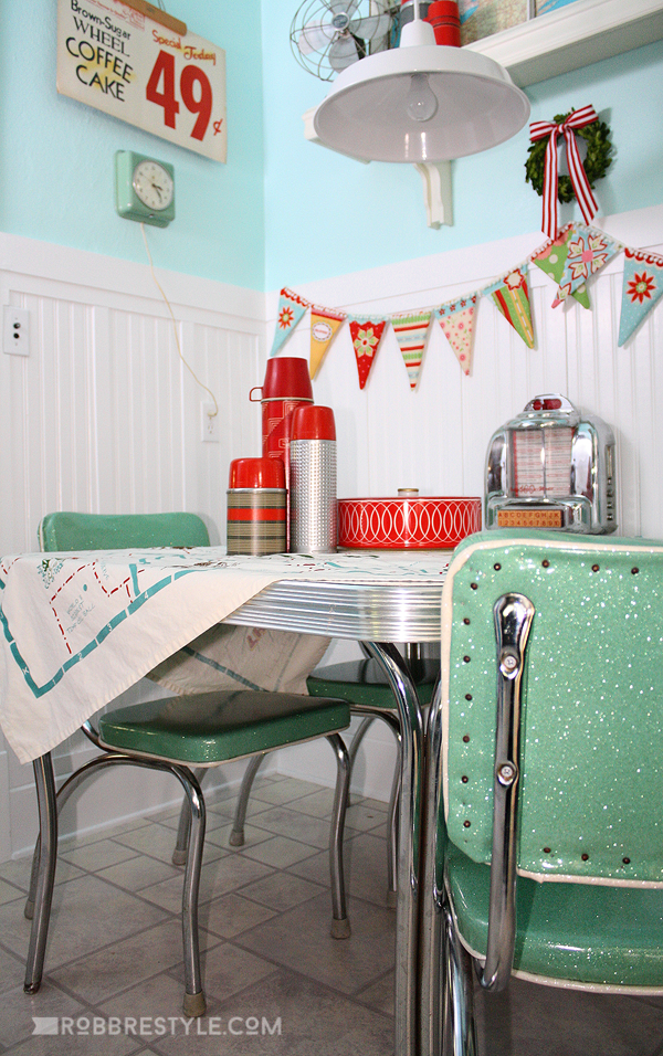 marvelous Retro Kitchen Decor #8: Retro Kitchen Decor by Robb Restyle