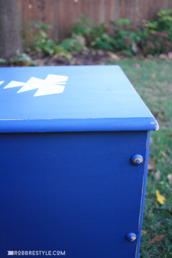 Furniture Flip: A handsome painted chest