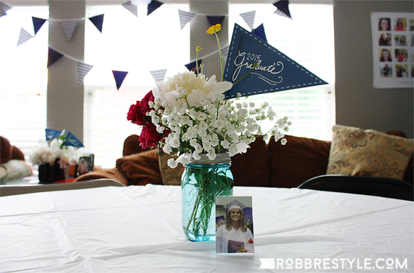 DIY graduation party decor & DIY Graduation Party Ideas | Robb Restyle