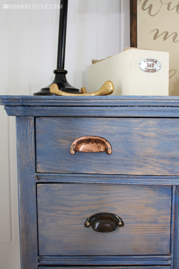Diy Color Stain Project Bedroom Sideboard Robb Restyle