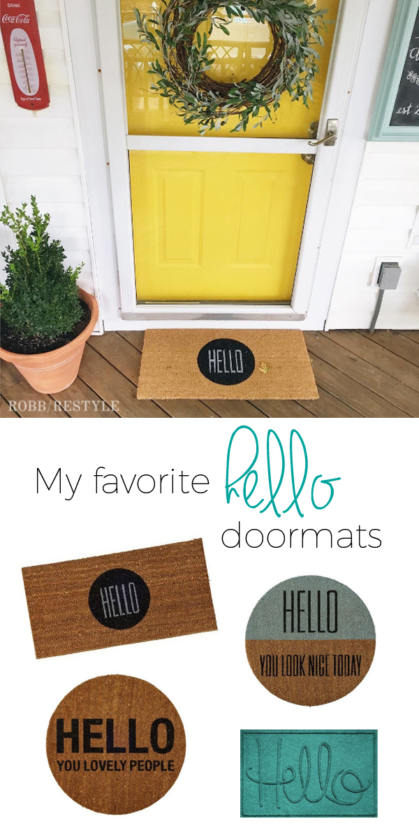Favorite Hello Doormats
