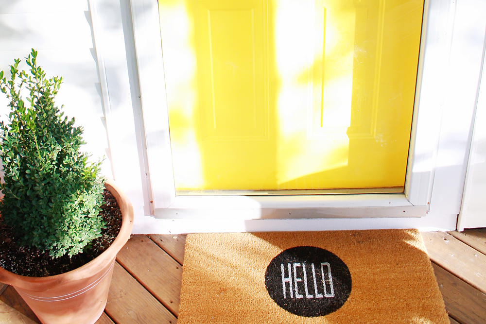 My Favorite Hello Doormats